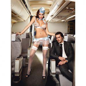 Baci First Class Flight Attendant (One Size)