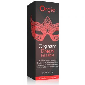 Orgie Orgasm Drop Kissable Conta Gotas (30ml)