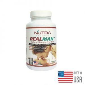 Nutra Botanics™ Realman™ 60's Capsules